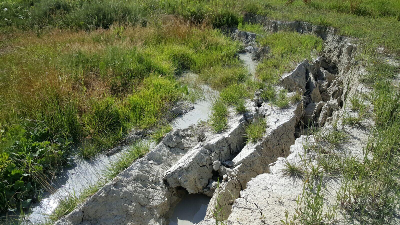 I vulcani di fango nelle Marche (con video)